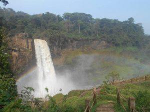 Ekom Nkam waterfalls