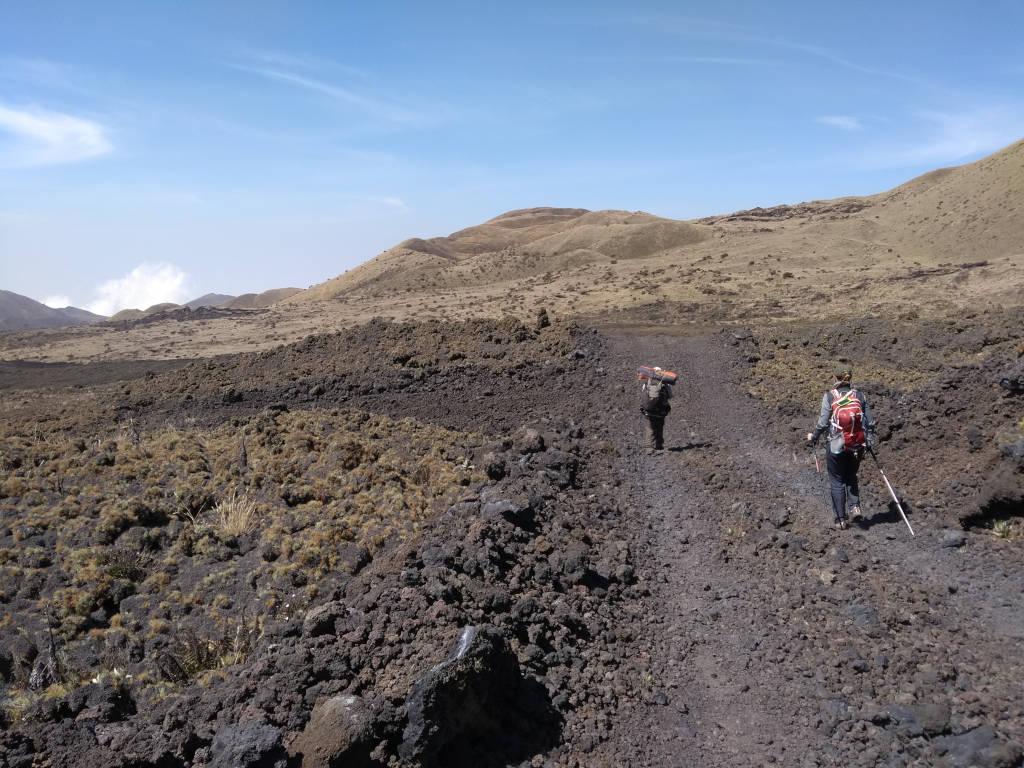 mount cameroon lava trek