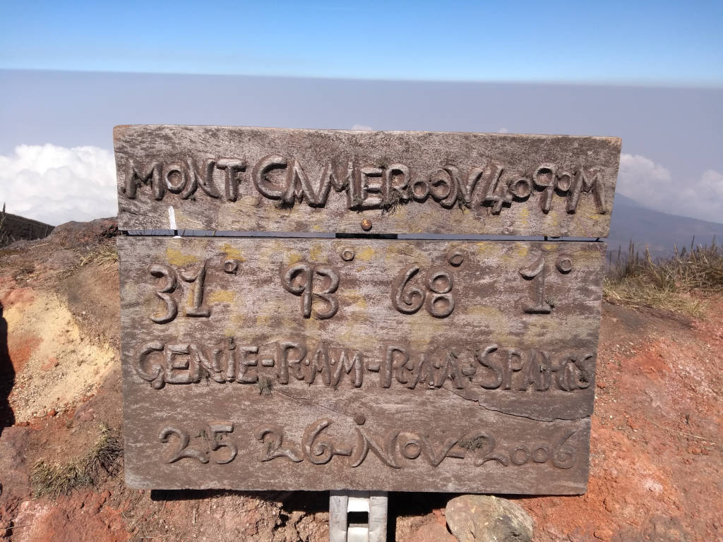 mount cameroon summit